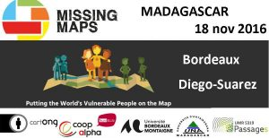 affiche Mapathon Missing Maps 18 novembre 2016
