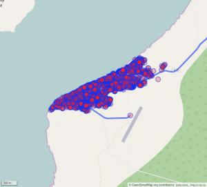 Visualisation de l'ajout des bâtiments sur la ville de Morombé à Madagascar