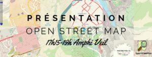 Affiche pour la conférence et lien vers l'évènement Facebook